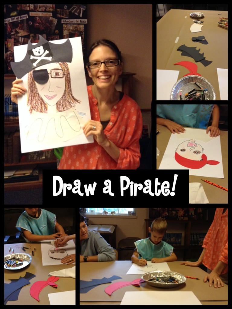 draw a pirate