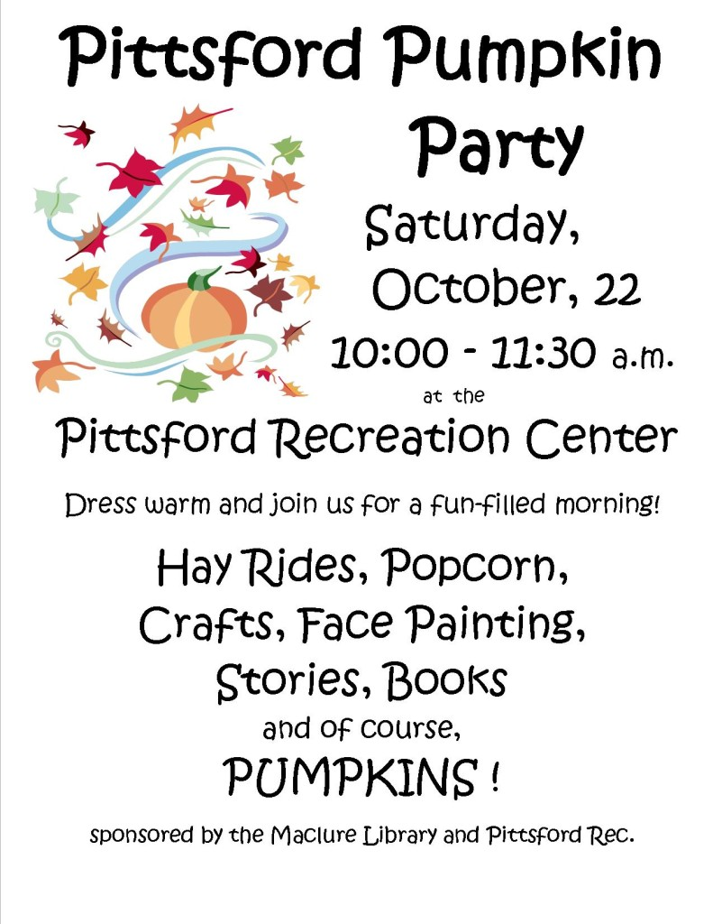 pittsford pumpkin party - 2016
